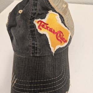 Texas Chica Patchwork Canvas Women's Hat